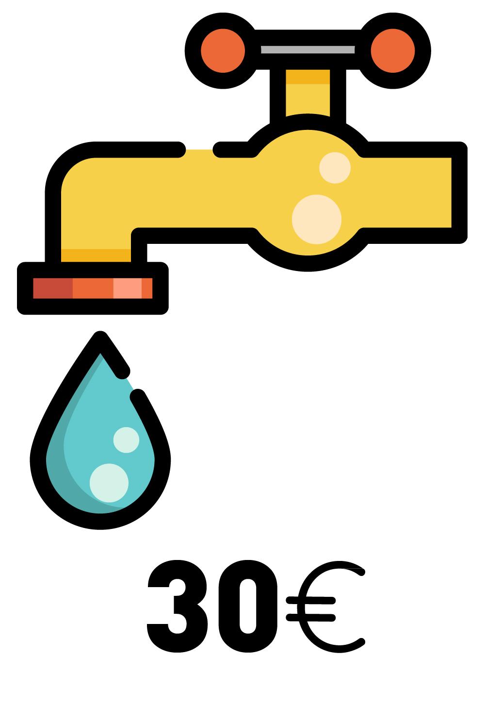 Donate water